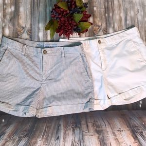 GAP girlfriend 4inch shorts size 6